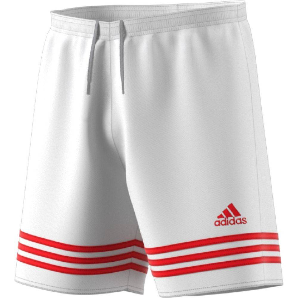 Pantalón corto Adidas Entrada 14 Blanco Poppy  cd0e21191cf9