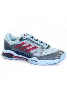 Zapatillas de pádel Adidas Barricade Club Azul/Blanco