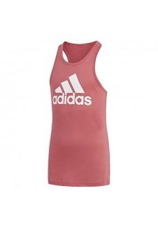 Camiseta de tirantes Adidas Essential Performance Logo Rosa