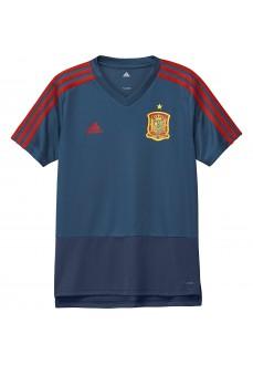 Camiseta entrenamiento España 2018 Adidas
