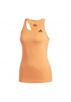 Camiseta de running Adidas Climalite Naranja