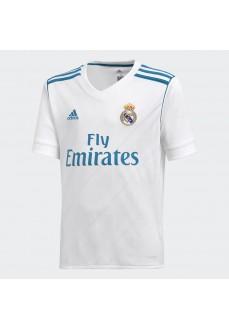 Adidas Real Madrid White/Turquoise T-Shirt   Short Sleeve   scorer.es