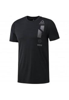 Camiseta entrenamiento Reebok Activchill Graphic Negro