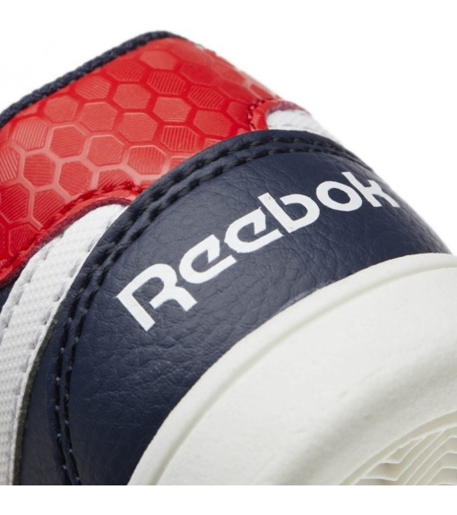 Reebok Royal Prime Navy Blue/Red Trainers | No laces | scorer.es