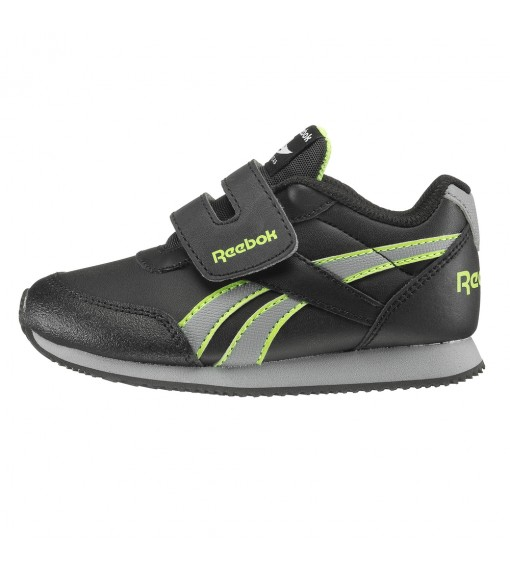 Reebok Royal Cljog Black/Grey/Green | No laces | scorer.es