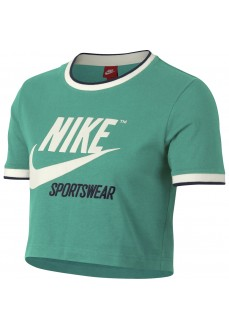 Camiseta Nike Nsw Top Crop Rib