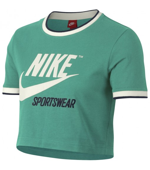 Nike Nsw Top Crop Rib T-Shirt | Short Sleeve | scorer.es