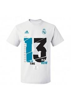Camiseta Adidas Real Madrid Campeón 13 UCL | scorer.es