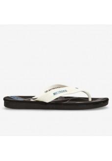 Nicoboco Yester White Flip-Flops