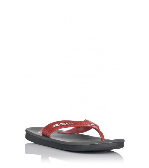 Nicoboco Yester Red Flip-Flops | Sandals/slippers | scorer.es
