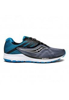 Saucony-Ride 10 Grey/Black/Blue | scorer.es