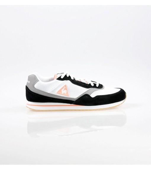 Le Coq Sportif Louise Suede Nylon/Gum Black/Papaya Trainers | Low shoes | scorer.es