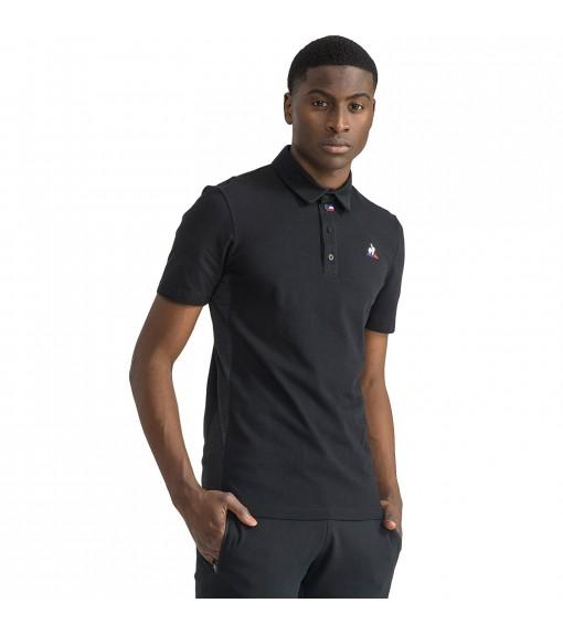 Polo T-Shirt Le Coq Sportif Tech Polo Ss No. 1 Black | Short Sleeve | scorer.es