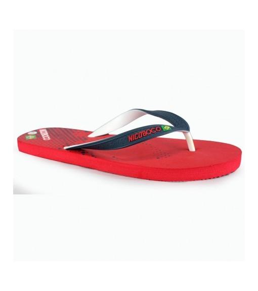 Nicoboco Brasil Red Flip Flops   Sandals/slippers   scorer.es