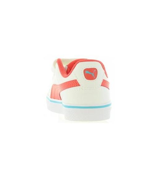 Puma Court Point Vulc V2 Ps White Trainers | No laces | scorer.es
