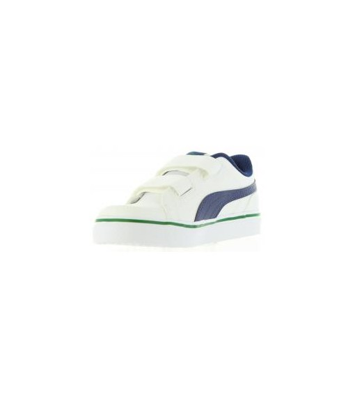 Puma Court Point Vulc V2 Ps White Trainers | No laces | scorer.es
