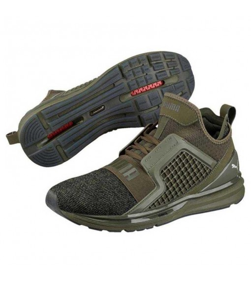 Puma Ignite Limitless Knit Green Trainers   High shoes   scorer.es