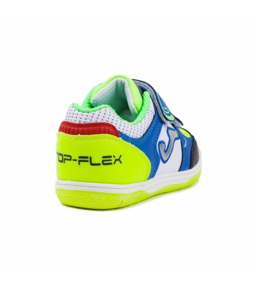 Zapatillas de fútbol sala de niño Joma Top Flex Jr 816 con velcro  87c8bf3d8da9b
