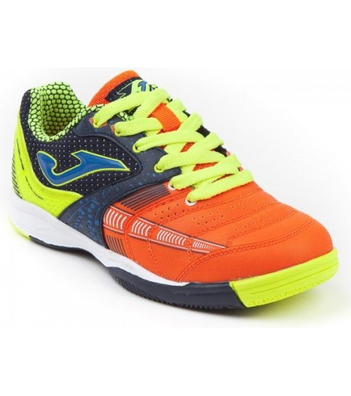 Joma Dibling Jr 816 Navy Blue-Orange Indoor Football Shoes | Football boots | scorer.es