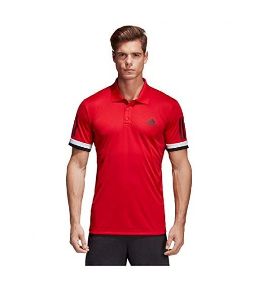 Adidas Club 3 Stripe Polo Shirt | Short Sleeve | scorer.es