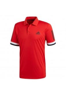 Adidas Club 3 Stripe Polo Shirt