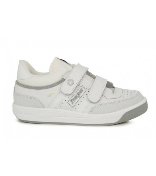 JHAYBER Men's Olimpia Trainers White/Gray 51189-101 | No laces | scorer.es