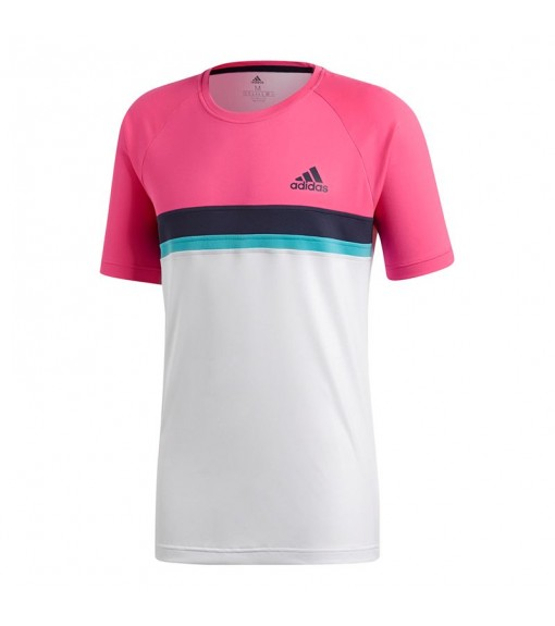 Adidas Club C/B Shock Pink T-Shirt | Short Sleeve | scorer.es
