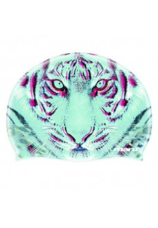 Tigers Eye Printed Silicone Hat Multi