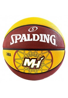 Balón Baloncesto Spalding NBA TEAM MIAMI HEAT SZ.7 DARK OR 83-161Z