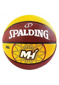 Balón Baloncesto Spalding NBA TEAM MIAMI HEAT SZ.7 DARK OR 83-161Z | scorer.es