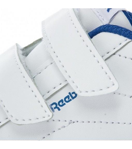 Reebok Royal Com White Trainers | No laces | scorer.es