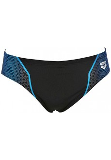 Slip Resistor Brief Black/Turq Swimsuit