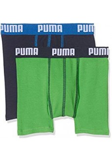 525015001-686 GREEN-BLUE BASIC BOXER 2P