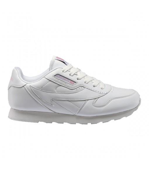 John Smit Women's Cresier White/Pink Trainers | Low shoes | scorer.es