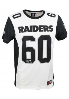 Camiseta Majestic Raiders White | scorer.es