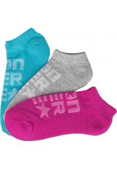 Converse Cyan Short Socks
