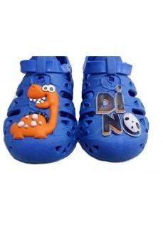 Plugt Velcro Dino Flip Flops