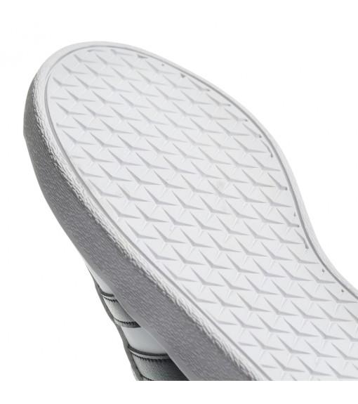 Adidas Kids' Vl Court 2.0 K White Black Stripes Trainers DB1831 | Low shoes | scorer.es