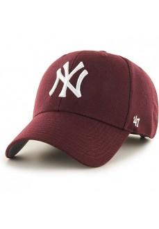 Gorra Brand47 Yankees Dark Maroon | scorer.es