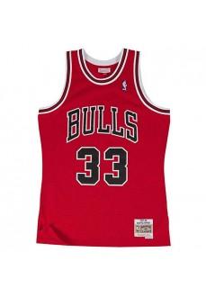 Camiseta Hombre Mitchell & Ness Scottie Pippen Rojo
