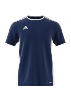 Camiseta Hombre Adidas Entrada 18 Jsy Azul CF1036