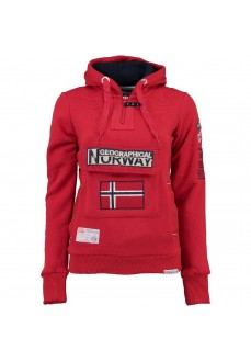 Sudadera Norway Gymclass Lady Rojo | scorer.es