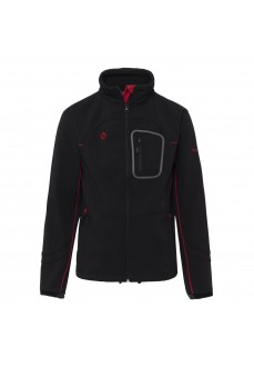 Softshell Izas Mogen Black/Red