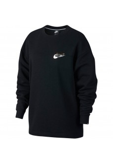 Sudadera Nike Rally Crew Metallic