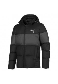 Abrigo Puma Hooded Down Jacket Black