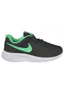 Zapatillas Nike Tanjun Junior Negro/Verde