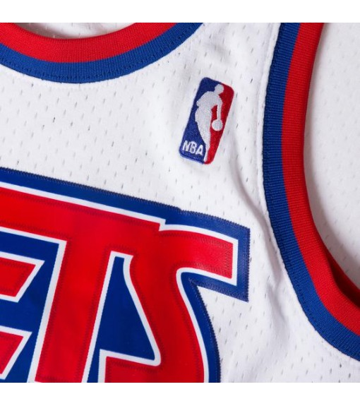 Mitchell & Ness Men´s New Jersey D.Petrovic White BA81MB-NJN | Basketball clothing | scorer.es