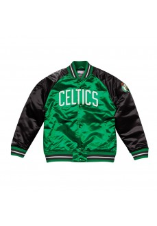 Abrigo Mitchel & Ness Tough Season Satin Jacket Boston Celtic | scorer.es
