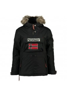 Abrigo Norway Niño Boomerang Negro