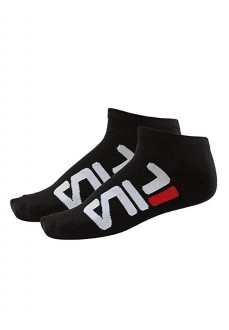Calcetines Fila Unisex Invisible Black